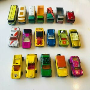 Matchbox Lesney Vintage Cars Bulk Lot 18 pieces