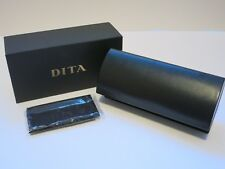 DITA CLASSIC Large Leather Mach One Four Five Eyeglasses Glasses Sunglasses Case