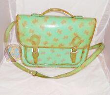 NAJ OLEARI 80s italy Post-man bag green - borsa postina originale usata cani