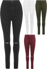 Straight Leg Plus Size High Waist Jeans for Women