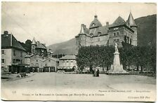 CPA-Carte postale- FRANCE -Vizille - Le Château - Le Monument du Centenaire