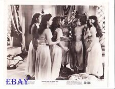 Denise Darcel bound w/rope VINTAGE Photo Tarzan And The Slave Girl