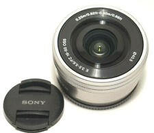 Sony E PZ 16-50mm f/3.5-5.6 OSS Lens for Sony E-Mount Cameras Silver