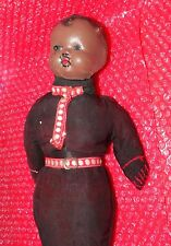 Antique Black (Smith Roanoak Alabama?) Doll head with replaced cloth body