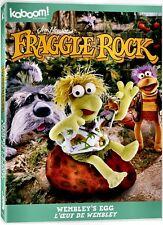 NEW DVD - FRAGGLE ROCK - WEMBLEY'S EGG  + THE FINGER OF LIGHT + GREAT RADISH FAM