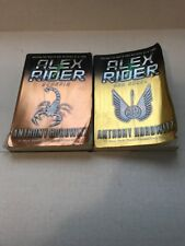 2 Book Mixed Lot Anthony Horowitz Alex Rider Series: Ark Angel, Scorpia