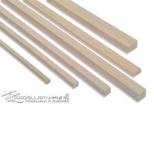 Balsaholz Balsa Vierkant-Leisten in verschiedenen Größen frei wählbar