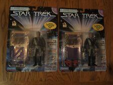 Playmates 1996 Star Trek Deep Space Nine Jem Hadar figures w/ varied accessories