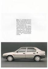 ALFA ROMEO 33 1.7 IE Q Hochglanz Prospekt Sales Brochure 1989 /36