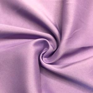 Matte Satin Fabrics for Dresses Peau de Soie Bridesmaid Dress Lilac Fabric bty