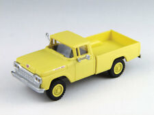 HO Scale Pickup Truck vehicle - 4x4 Goldenrod Yellow