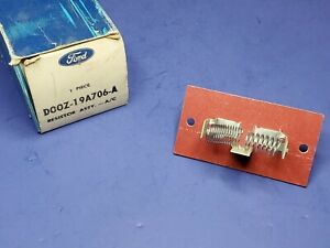 NOS OEM FORD  68 71 TORINO + MONTEGO 68 70 FALCON  A/C BLOWER MOTOR RESISTOR