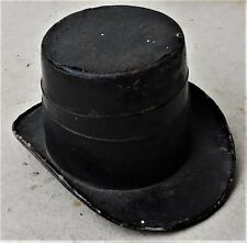NO RESERVE c1890 Novelty Top Hat Travelling Inkwell Vintage Antique