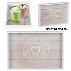 Love My Home Large 35.5 * 24.2 * 4.3cm Wooden Designs Rectangulars Serving Tray