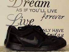 NIKE AIR JORDAN Black Suede Basketball Walking Athletic Mens Shoes Sz 11.5 @