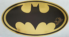 BOB KANE Signed Foil Sticker BATMAN CREATOR COA