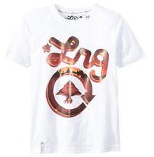 LRG Women's Medium Graphic White T-Shirt 100% Cotton