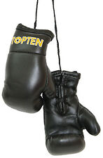 Top Ten-mini boxing gloves. negro. souvenier. colgante. Lifestyle.