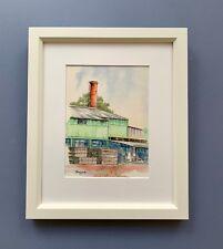 "Original Framed Watercolour ""The Pemberton Mill"" Pemberton, Western Australia"