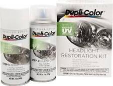 Dupli-color HLR100 Head Light Restoration Kit .UV Protection. BRAND NEW AND FAST