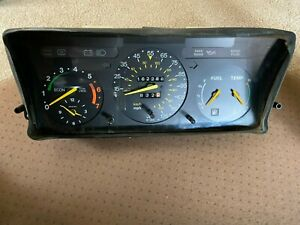 Instrument cluster for Saab 900 Non-Turbo 1986-88           3