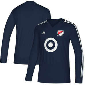 Adidas MLS All Star 2018 Training Jersey Navy/White CW3510