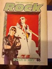 THE HISTORY OF ROCK MAGAZINE VOLUME 6 ISSUE #65 ROCK AND ART