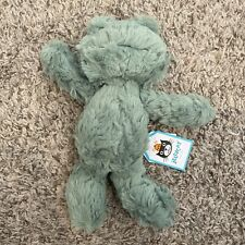Jellycat Squiggles Frog Small Stuffed Animal Plush
