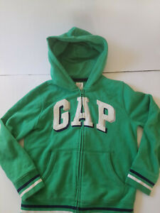 Gap Kids Boys Hoodie Zip Up Jacket Sweatshirt Size M (8)