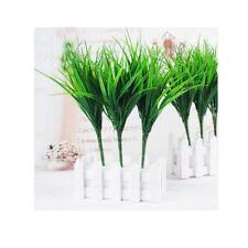 Planta de plástico verde hierba simulación de las plantas de césped artificial Hierba de simulación F