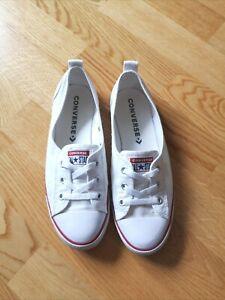 Converse Ballet Lace Slip Sneaker Ballerinas Schuhe Sommer Damen