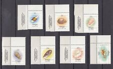 TIMBRE STAMP  7 ILE TONGA Y&T#559-65 COQUILLAGE SHELL NEUF**/MNH-MINT 1984 ~A69