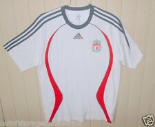 Adidas  Short Sleeve White Soccer Jersey  Men's Large