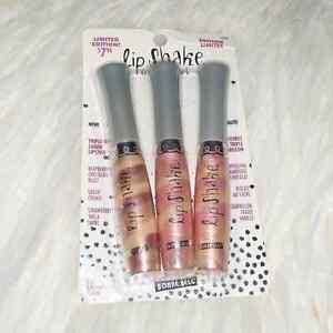 RARE Bonne Bell Lip Smacker Lip Shake Limited Edition Trio Lip Gloss Set