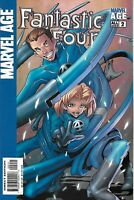 Marvel Age Fantastic Four Comic 2 Cover A First Print 2004 Sean McKeever