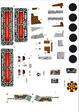 Vintage Replacement  Millennium Falcon Stickers / Labels