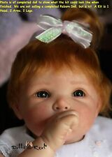 REBORN DOLL KIT, NANCY BY ELLY KNOOPS, VINYL DOLL KIT