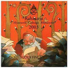 FINLANDE Coffret de 8 pièces BU 2003 Noel