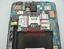 Réparation LECTEUR SIM N7000 SAMSUNG NOTE 1 / micro soudure repair micro SIM