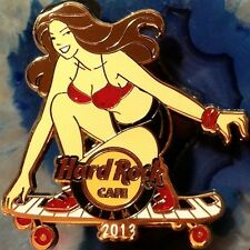 Hard Rock Cafe MIAMI FL 2013 SKATEBOARD GIRL Series PIN #1 - HRC Catalog #72909