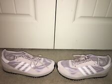 best website d04ae b7a61 Adidas Mens Glacier Ice Purple New York 80 s Running Shoes BB2739 SZ 10M ...