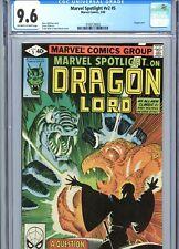 Marvel Spotlight v2 #5 CGC 9.6 OW-WP Dragon Lord Frank Miller Cover Marvel 1980
