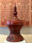 Antique lacquer Offering Elm Bowl Southeast Asia