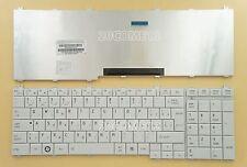 for Toshiba C650 C650D C655 C655D C660 C660D Keyboard Slovak slovenčina White