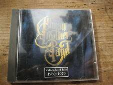 ALLMAN BROTHERS BAND - Decade of Hits 1969-79 - Very good used CD
