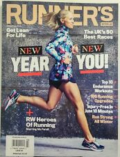 Runner's World UK Feb 2017 New Year New You Get Lean For Life FREE SHIPPING sb