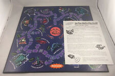 Are You Afraid Of The Dark? Board Game Replacement Game Board + Instructions