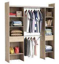 RIESIGER Kleiderschrank #3002 begehbar offen Garderobe Schrank Regal Schublade