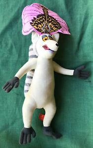 King Julien - Lemur - Large Plush Toy (46 cm) - Madagascar 3 - Dreamworks