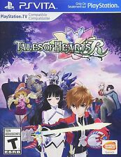 Tales of Hearts R [Sony PlayStation Vita PSV, Platform Exclusive, Action JRPG]